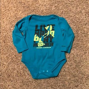 Under Armour Long Sleeve Onesie